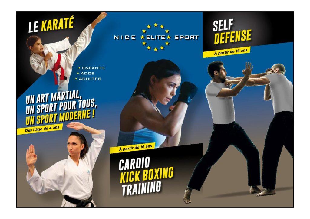 Karaté Adultes et ados à partir de 14 ans- Cours de Self défense et de cardio kick boxing training à partir de 16 ans